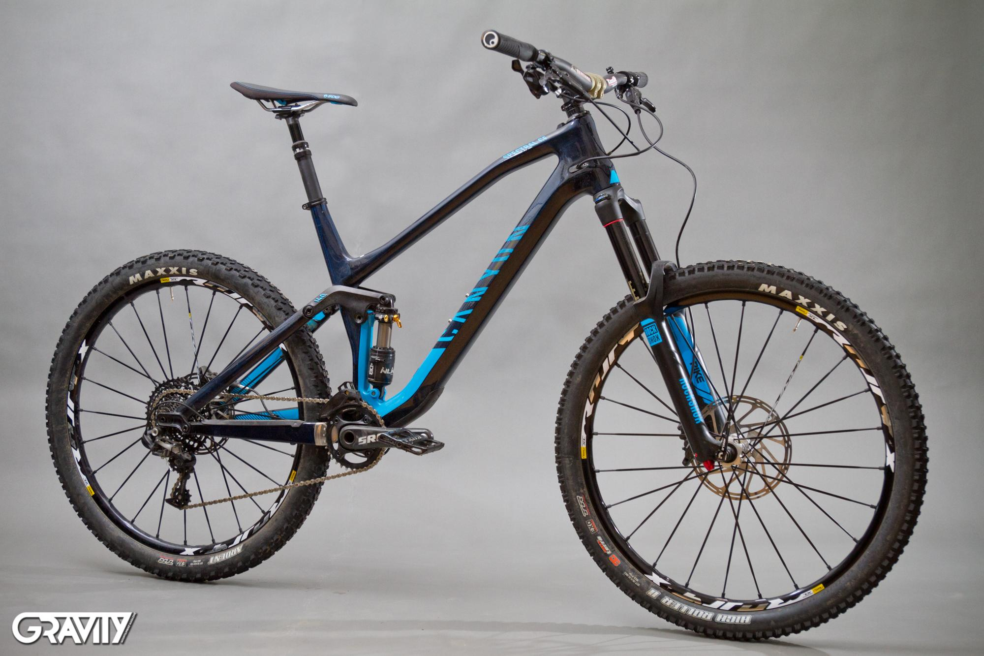 "Test: Canyon – ""Spectral CF 9.0 EX"" – Gravity MTB Magazine"